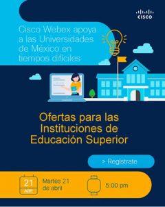 Ofertas para las Instituciones de Educación Superior : CISCO