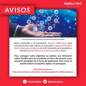 Santander IE Best Practices in Digital Education for Teachers