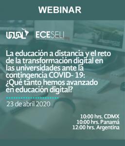 La educación a distancia y el reto de la transformación digital en las universidades ante la contingencia del COVID-19