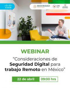 Consideraciones de Seguridad Digital para el Trabajo Remoto en México
