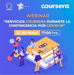 Servicios Coursera durante la Contingencia por COVID-19