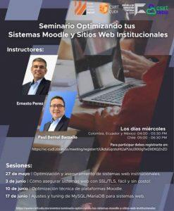Seminario: Optimización y aseguramiento de sistemas web institucionales