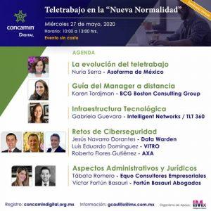 """Teletrabajo en la """"Nueva Normalidad"""""""