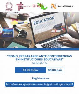 Seminario: Como prepararse ante contingencias en instituciones educativas